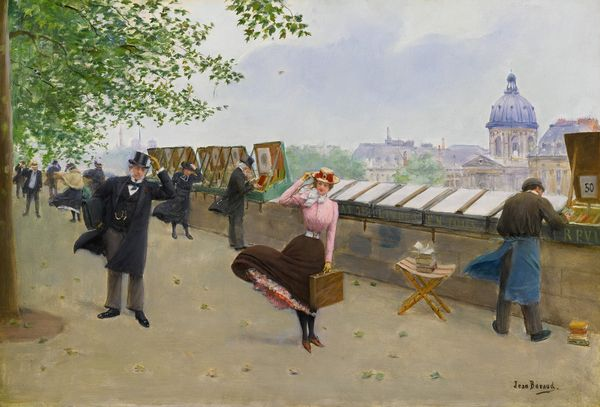 "Jean Béraud ""Le long de la Seine"" Estimation: 250 000 à 350 000 dollars."