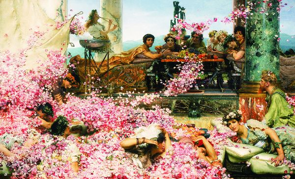 Lawrence Alma-Tadema. Les roses d'Héliogabale. 1888 Collection Prérez Simon, Mexico.