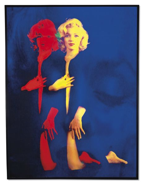 "Jonathan Bermudes ""Marylin Double on"", 2016 Estimation: 12 000 à 18 000 euros"