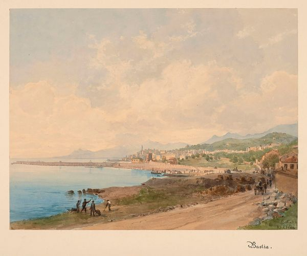 Charles William Meredith van de Velde (1818-1898) Vue de Bastia, Cap Corse Estimation: 5 000 à 7 000 euros.