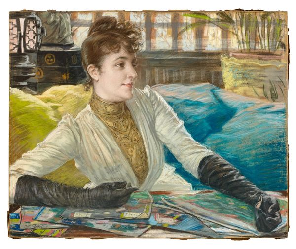 James Tissot (1836-1902) Portrait de Mathilde Sée Estimation: 200 000 à 300 000 euros Artcurial, 23 mars
