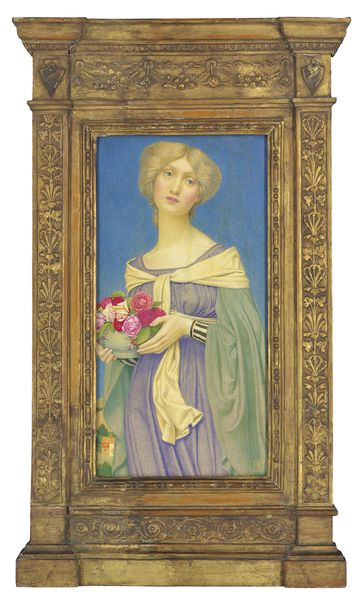 Johen Edward Southall The rose bowl, 1905 Estimation: 30 000 à 50 000 livres Vente Christie's, 11 juillet