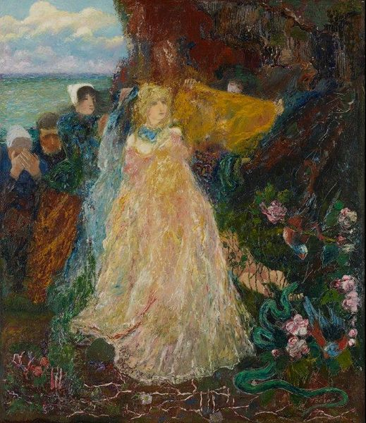 "Jan Toorop (1858-1928) ""Vénus de la mer"". 1889-1890. Kollenburg Antiquairs"