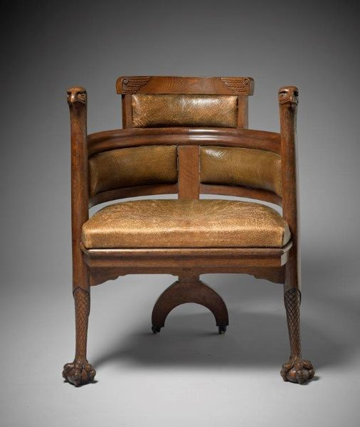 E W Godwin (1833-1886), chaise aigle, Angleterre probablement fabrique William Watt, 1870. H Blairman and Sons ltd.
