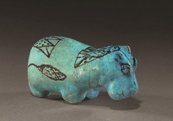 hippopotame. Egypte XIIe dynastie (vers 1991-1786 av JC). Royal Athena galleries
