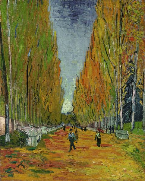 "Vincent Van Gogh (1853-1890), ""L'allée des Alyscamps"", 1888. Estimation: plus de 40 millions de dollars. Vente Sotheby's New York, 5 mai 2015."