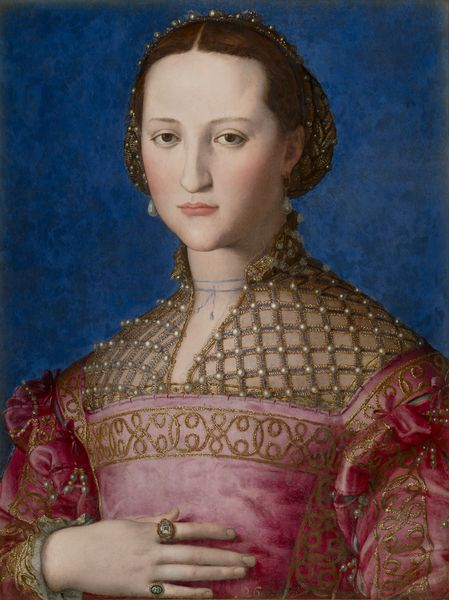 "Agnolo Bronzino (1503-1572) ""Portrait d'Eléonore de Tolède"", 1522 Prague Narodni Galerie copyright: National gallery of Prague 2014."