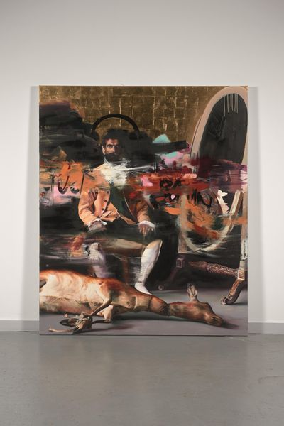 "Conor Harrington ""The killer inside me"", 2012. Estimation: 40 000 à 60 000 euros."
