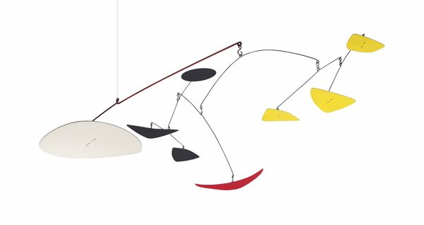 Alexander Calder (1898-1976) The Red Crescent, 1969.  Estimation: 1 300 000 -1 800 000 euros.