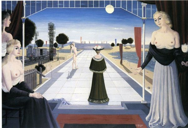 Paul Delvaux (1897-1994) La grande allée, 1964 Thomas Salis Art and Design.