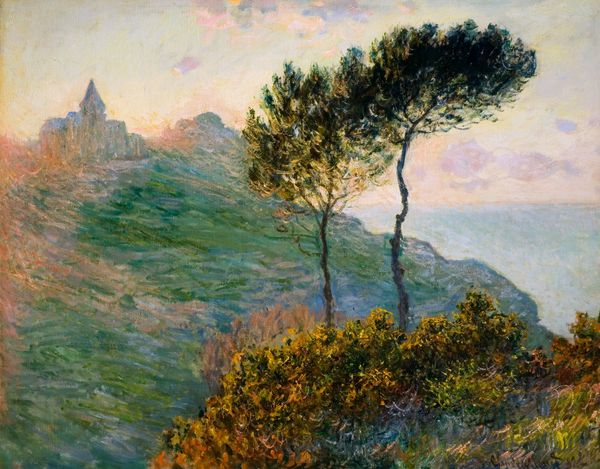 Claude Monet (1840-1926) L'églide de Varengeville à contre-jour. 1882. The Barber Institute of Fine Arts, University of Birmingham.