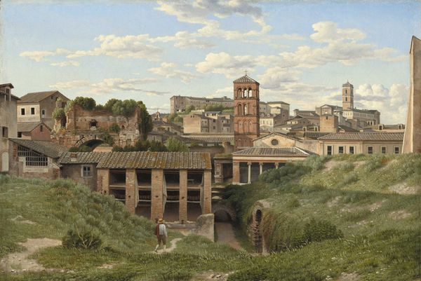 C W Eckersberg Vue de la Cloaca Maxima. 1814. National Gallery of Art, Washington.