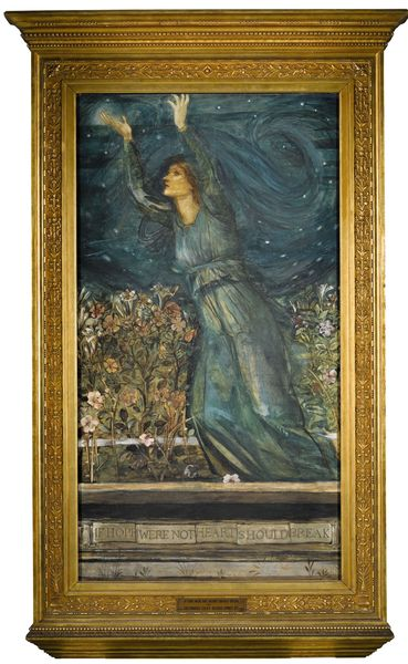Edward Coley Burne-Jones If hope were not, heart should break. Estimation: 100 000 à 150 000 livres. Sotheby's Londres, 14 juillet.
