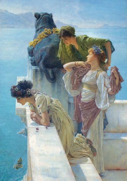 Lawrence Alma-Tadema Coign of vantage, 1895. Collection Ann et Gordon Getty.