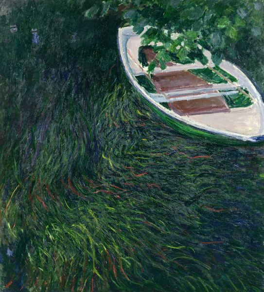 "Claude Monet ""La barque"" 1887 Musée Marmottan Monet copyright the Bridgeman art library"