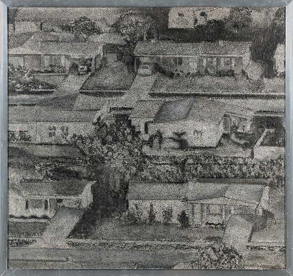 Richard Artschwager (1923-2013) Homes II-1967 Estimation: 80 000 à 120 000 euros