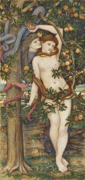 John Roddam Spencer Stanhope The temptation of Eve Estimation: 25 000 à 35 000 livres Vente Christie's, 11 juillet